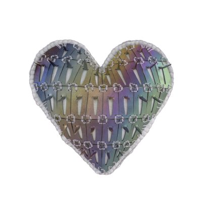 Prismatic Spiky Heart Pin #2
