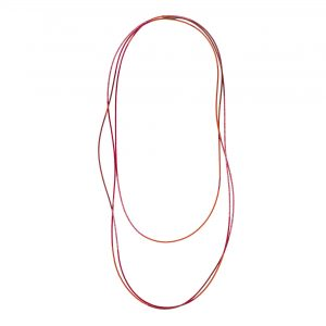 Red & Pink Sweep Necklace
